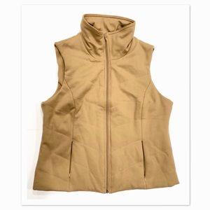 Coldwater Creek Fall/Winter Beige Vest w/Pockets